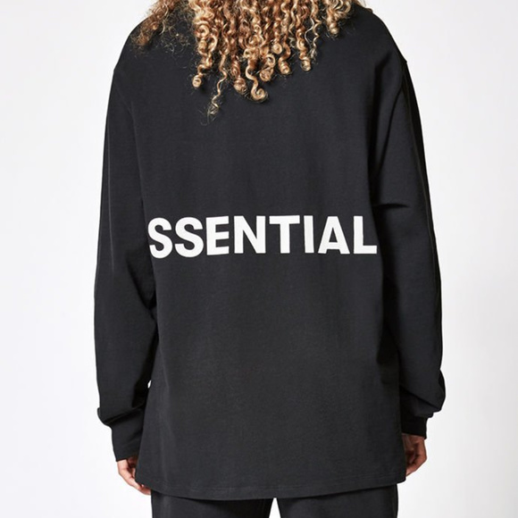 e1c36a0ee1 Fear Of God Essentials Boxy Graphic Long Sleeve